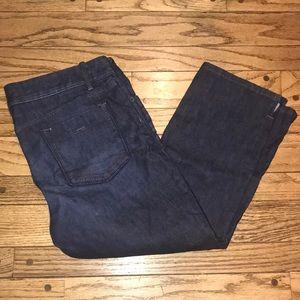 EUC Banana Republic Cropped Jeans